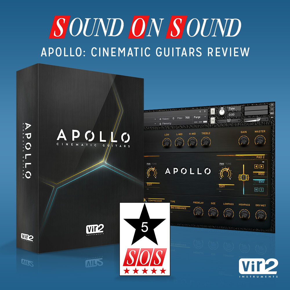 Apollo: Cinematic Guitars Sound On Sound Review
