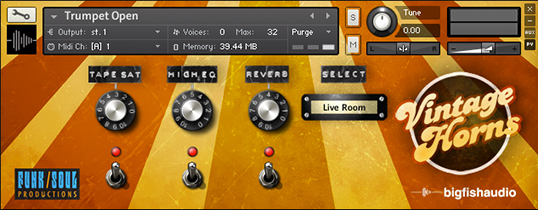 Vintage Horns Interface
