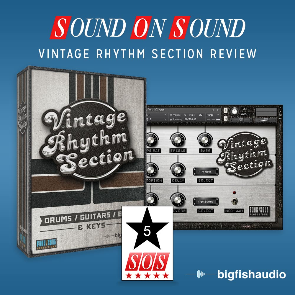 Vintage Rhythm Section Sound On Sound Review