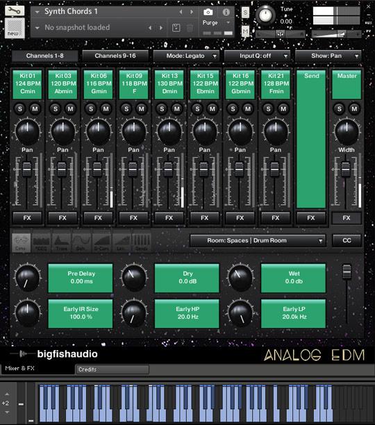 Analog EDM GUI