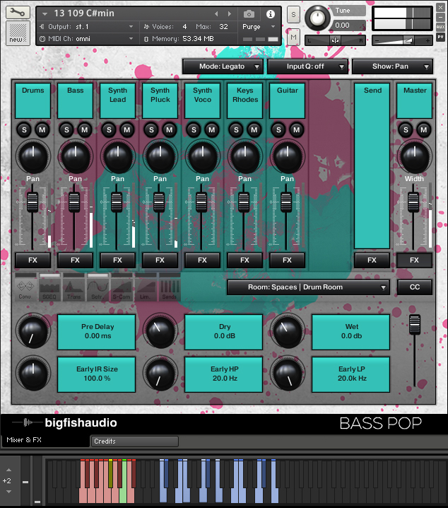 Bass Pop GUI
