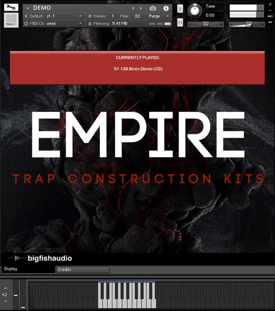 Empire: Trap Construction Kits GUI