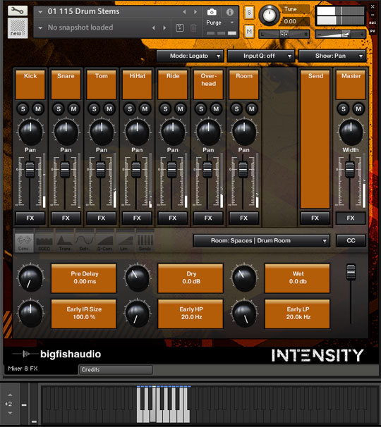 Intensity: Rock Construction Kits GUI