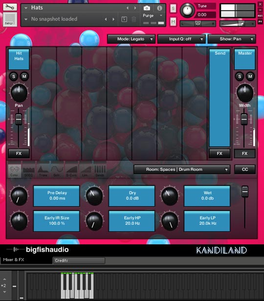 Kandiland: EDM Construction Kits GUI