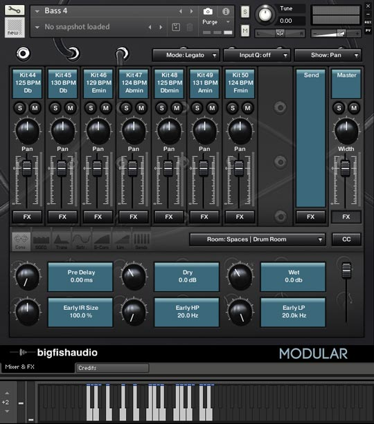 Modular: Analog Tech House GUI