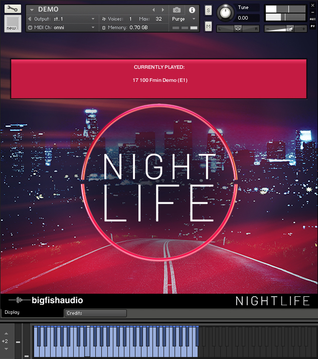 Nightlife GUI