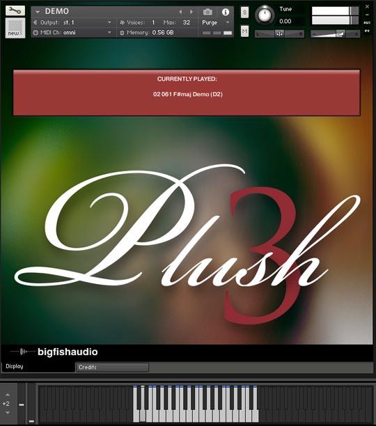 Plush 3 GUI