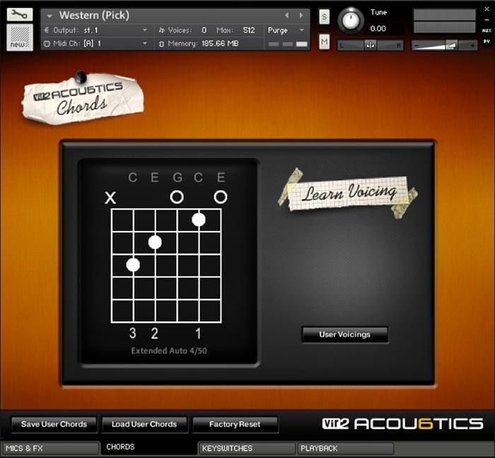 Acou6tics Screen 3