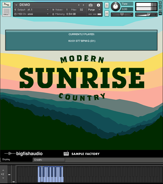 Sunrise GUI