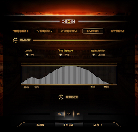 The Orchestra GUI