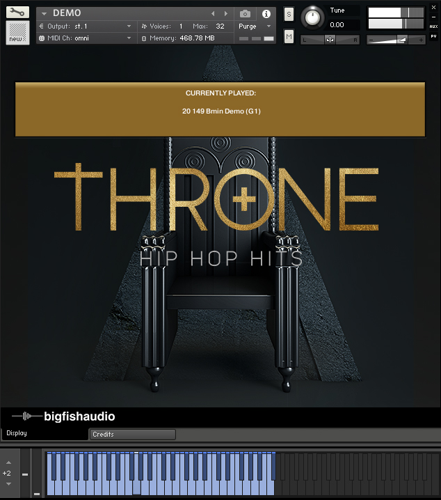 Throne GUI