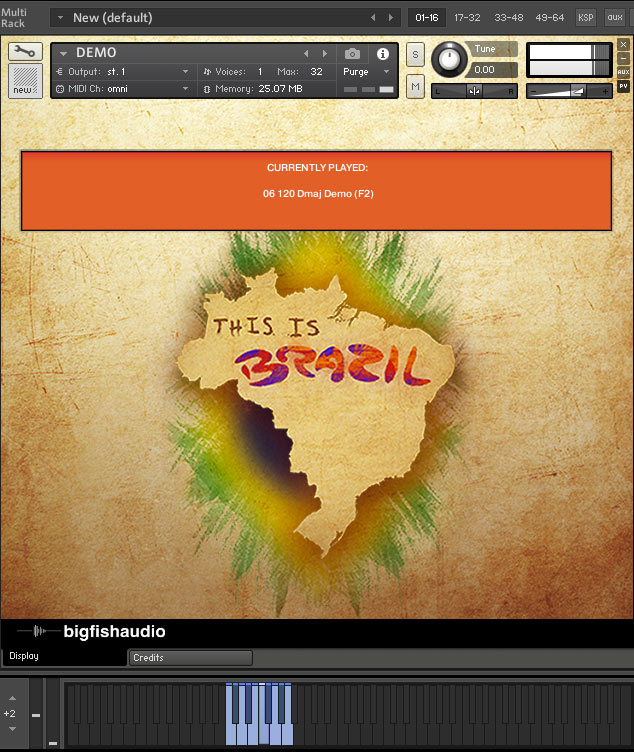 This Is Brazil GUI