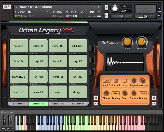 Urban Legacy Screen 2