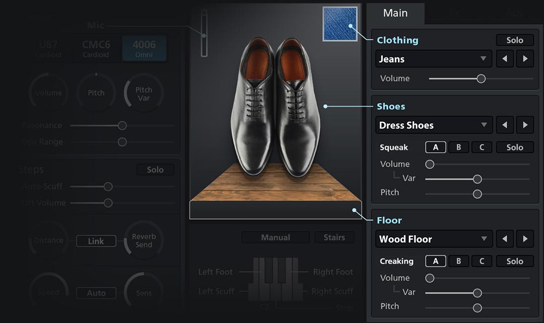 shoes gui