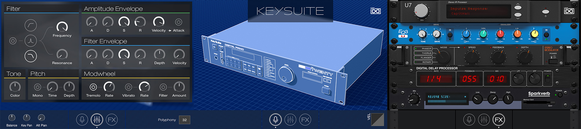 digital keys gui