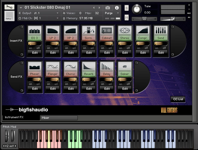 Vibe Guitars GUI