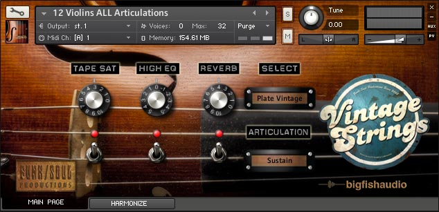 Vintage Strings GUI 1