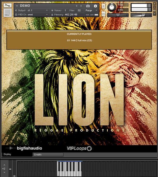 Lion GUI