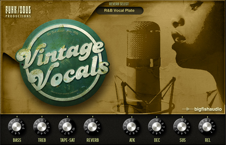 Vintage Vocals GUI