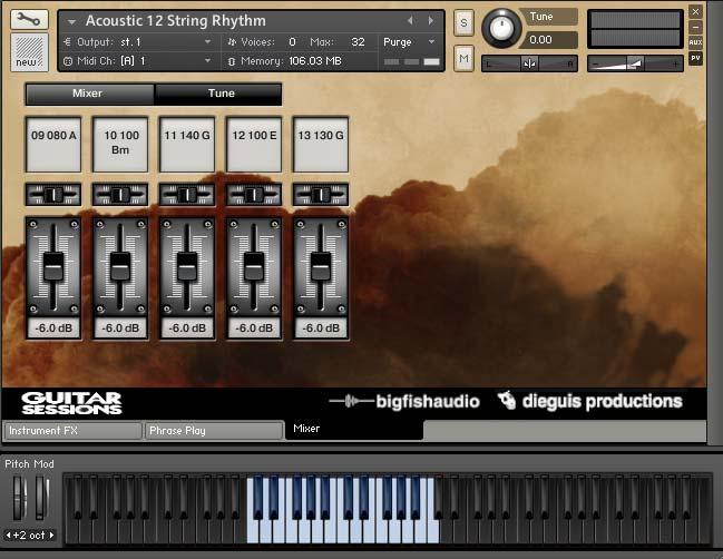 Guitar Sessions GUI