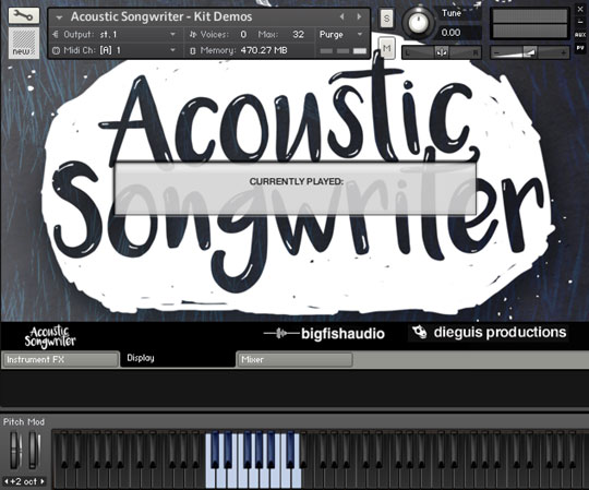 Acoustic Songwriter GUI