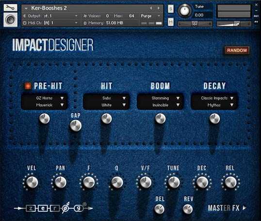 Impact Designer GUI
